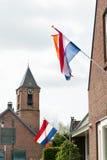 国王天在荷兰 免版税库存图片