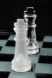 国王对峙1 库存照片