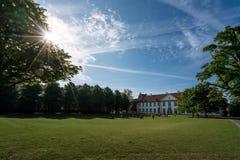 国王庭院在欧登塞 库存照片