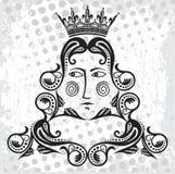 国王徽标 库存图片