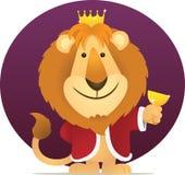 国王狮子 库存照片