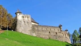 国王的历史的被加强的城堡 库存图片
