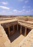 国王的古墓在塞浦路斯 图库摄影