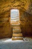 国王的坟茔在帕福斯,塞浦路斯 免版税图库摄影