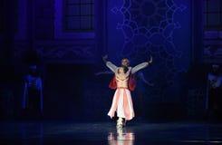"""国王的妇女芭蕾""""One一千和一Nights† 库存照片"""