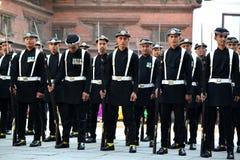国王的尼泊尔皇家军队 免版税库存照片