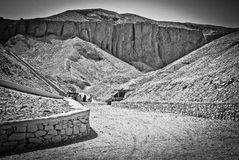 国王的谷,埃及 免版税库存图片