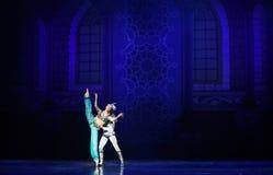 """国王的迷恋芭蕾""""One一千和一Nights† 库存照片"""