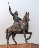 国王雕象 免版税库存图片