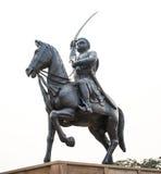 国王雕象 免版税库存照片
