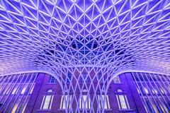 国王` s十字架驻地在伦敦 免版税图库摄影