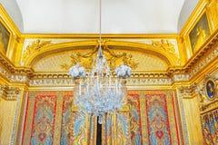 国王` s卧室 免版税图库摄影