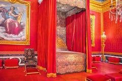 国王` s盛大apartmentSalon de火星 waron t的火星罗马神 免版税图库摄影