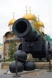 国王Cannon (沙皇大炮) 免版税库存图片