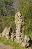 国王Men Stone Circle 免版税库存照片