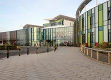国王Mill Hospital诺丁汉,英国的入口 图库摄影