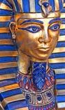 国王tut埃及面具  免版税库存照片