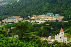 国立故宫博物院在台北,台湾 免版税库存照片