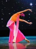 戴国籍图月光舞蹈  免版税库存照片