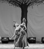 戴国籍恋人2011舞蹈课毕业音乐会党 免版税图库摄影