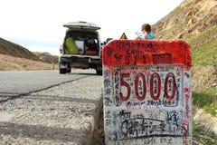 国道318 免版税库存照片