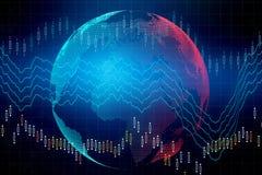 国际企业和财务概念 向量例证