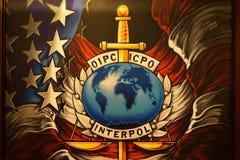 国际刑警组织艺术 库存照片