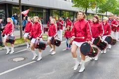 国际劳动节在柏林 库存图片