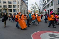 国际劳动节在柏林 免版税库存图片
