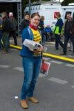 国际劳动节在柏林 库存照片