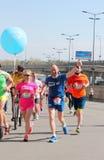 国际半马拉松 免版税库存图片