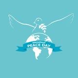 国际和平天 库存照片