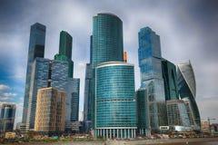 国际商业中心莫斯科城市 库存图片