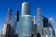 国际商业中心莫斯科市 免版税图库摄影