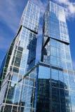 国际商业中心莫斯科市 库存图片