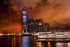 国际商务中心Kowloon香港 库存图片
