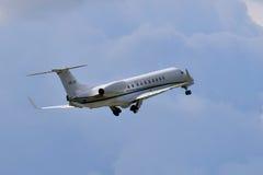 国际喷气机管理巴西航空工业公司ERJ-135 库存照片