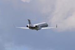 国际喷气机管理巴西航空工业公司ERJ-135 免版税图库摄影