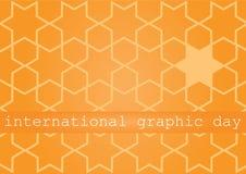 国际图表天 免版税库存照片