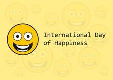 国际天幸福 库存图片