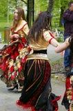 国际天舞蹈在Frydek-Mistek 免版税库存照片