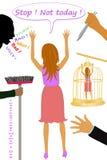 国际妇女日 免版税库存照片