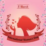国际妇女` s天, 3月8日 免版税库存图片
