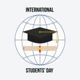国际学生`天 免版税库存图片