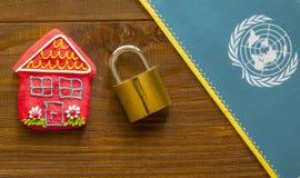 国际安全藏身处 免版税库存图片