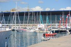 国际小船展示的热那亚第57编辑 免版税库存图片