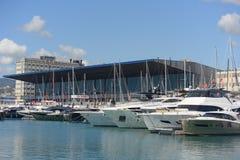 国际小船展示的热那亚第57编辑 免版税图库摄影