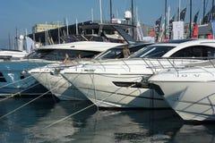 国际小船展示的热那亚第57编辑 免版税库存照片
