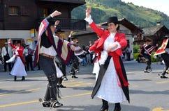 国际山舞蹈节日 免版税库存图片