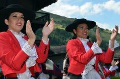 国际山舞蹈节日 库存图片